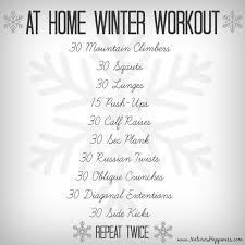 easy workout plans at home winter workout archives natures happiness blog news tips