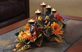 Fall Floral Decorations - fifteen thanksgiving centerpiece ideas entertaining check these out