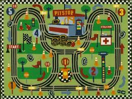 Kids Play Rugs With Roads by Kids Race Track Rug Roselawnlutheran