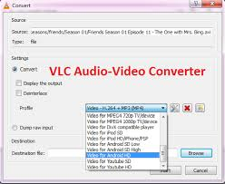 all format video converter how to convert audio or video files to any format using vlc