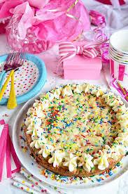 birthday cookie cake birthday sugar cookie cake tidymom