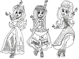 High Characters Coloring Pages Images Of Monster High Characters Coloring Pages Coloring Home by High Characters Coloring Pages