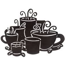 Coffee Themed Wall Decor Black Metal Coffee Cups Wall Decor Hobby Lobby For Our Home