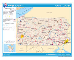 Pennsylvania Cities Map by Maps Of Pennsylvania State Collection Of Detailed Maps Of