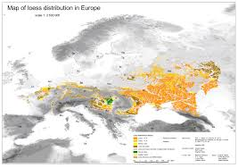 Modern Europe Map by New European Loess Map Helmholtz Centre For Environmental Research