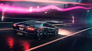 lamborghini aventador headlights in the dark lamborghini cars 2018 lamborghini aventador on road in rain in