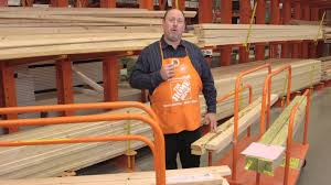 the home depot framing lumber options youtube