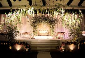 luxurious wedding receptions hall decoration ideas