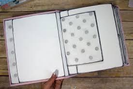 Diy Scrapbook Album Build A Page