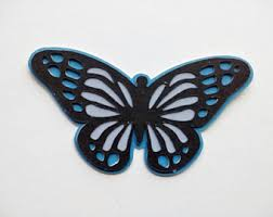 butterfly decoration etsy