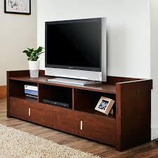 Tv Unit Furniture Online Furniture Of America Helenza 60 In Vintage Walnut Entertainment