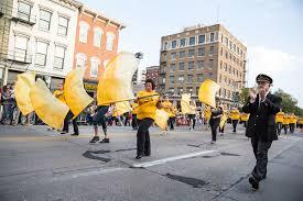 Iowa Hawkeyes Flag Spirit On Parade Iowa Now