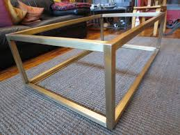 great metal coffee table base ohiowoodlands coffee table base
