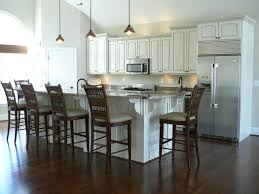 furniture modern kitchen design with white kent moore cabinets