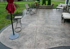 Cost Of Stamped Concrete Patio by Good Cost For Stamped Concrete Patio Stamped Concrete Patio Home