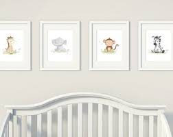 baby animal prints etsy