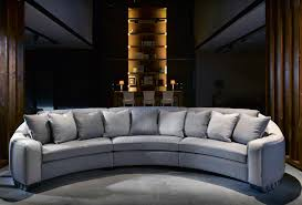 Curved Fabric Sofa by A Beautiful Luxury Curved Sofa Which Can Even Become A Circular