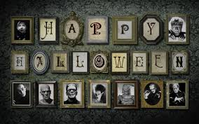 happy halloween scary images happy halloween creepy paintings on the wall