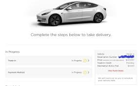 model 3 ordered regular customer details in the comments