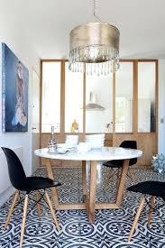 table cuisine design table ronde cuisine table de cuisine ronde en stratifiac