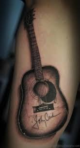50 bets guitar tattoos