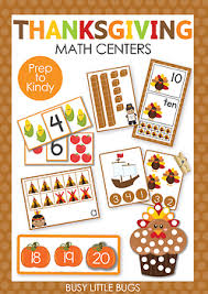 thanksgiving math centers by busy bugs teachers pay teachers
