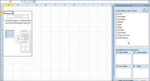 Creating A Pivot Table In Excel How To Create A Pivot Table In Excel 2010 Dummies