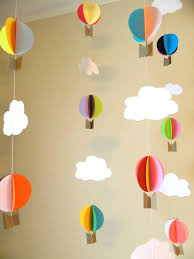 hot air balloon decorations oh the places you ll go birthday decorations hot air