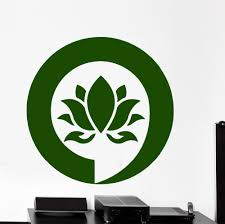 Lotus Flower Wall Decal Om by Compare Prices On Lotus Flower Wall Sticker Bedroom Online