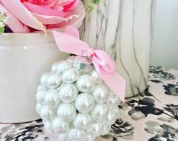 pearl ornaments etsy