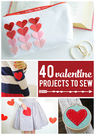 Valentine S Day Decorations For Bags by 40 Valentine U0027s Day Projects To Sew On Polka Dot Chair