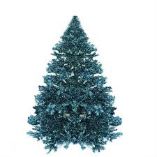 7 5 pre lit shimmering blue green peacock color theme tinsel