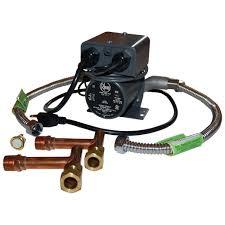 Circulation Pump For Water Heater Rheem 1 25 Hp Water Recirculating Pump With Under Sink Kit