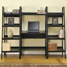Leaning Bookcase Walmart Desk Ana White Build A Leaning Ladder Wall Bookshelf Free And