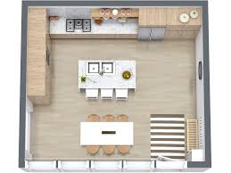 how to design a kitchen remodel with free software roomsketcher 7 kitchen layout ideas that work