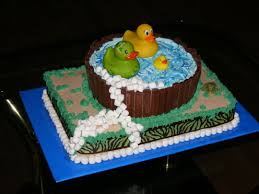 rubber duck camo camouflage baby shower cake cake by save me a
