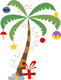 Decorating A Palm Tree For Christmas by Surprising Palm Christmas Tree Fine Decoration Deck The Palms