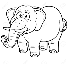 free download elephant coloring book 79 on line drawings with
