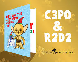 wars christmas card wars christmas cards costume discounters