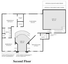 Classic Farmhouse Floor Plans by Estates At Mill Creek Ridge The Covington Home Design