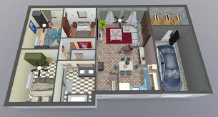 Floor Plan Of The House Project Of The Month February U002717 Space Designer 3d