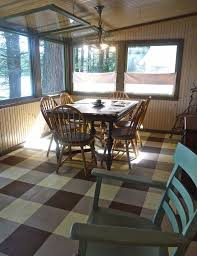 How To Paint A Table How To Paint A Floor Plaid Hometalk
