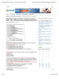 eswitching ccna 3 final 2013 2014 exam answers 100 u2013 full lan