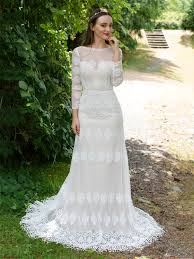 boho wedding dresses sleeves boho lace wedding dress 5003