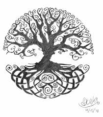 happiness quote tattoo ideas celtic tree of life tattoo idea u2026 possibly include a single red