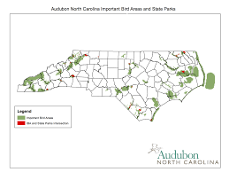 Nc State Map State Parks And Important Bird Areas Offer Protection For Nc Birds
