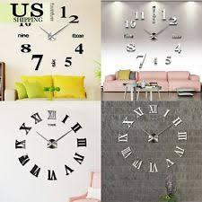 Office Wall Clocks Arts U0026 Crafts Mission Style Wall Clocks With Battery Backup Ebay