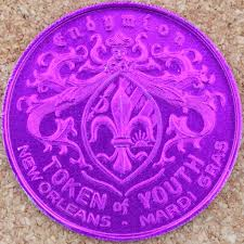 mardi gras deblume new orleans mardi gras doubloon endymion token of youth ne flickr