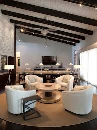 Open Seating Living Room Multiple Seating Areas Houzz