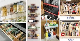 kitchen diy ideas amazing ideas for kitchen organization 45 small kitchen